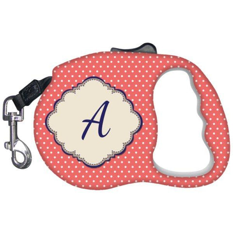 Unique Gifts - Monogrammed Dog Leash-Pet Accessories-Orange-The Miracles Store