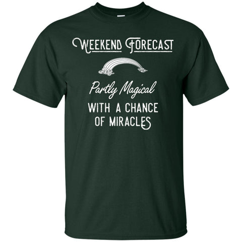 Weekend Forecast T-shirt - Youth - T-Shirts - Forest - YXS -