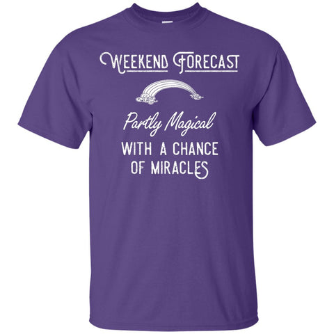 Weekend Forecast T-shirt - Youth - T-Shirts - Purple - YXS -