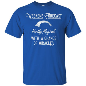 Weekend Forecast T-shirt - Youth - T-Shirts - Royal - YXS -