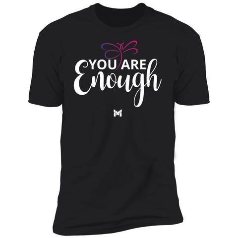 """You Are Enough"" Unisex T-Shirt-T-Shirts-The Miracles Store"