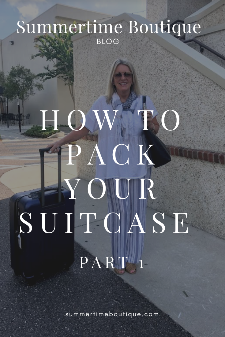 How To Properly Pack A Suitcase: Part 1