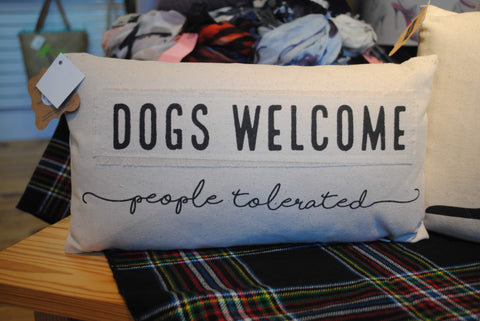 Dogs Welcome_ People Tolerated