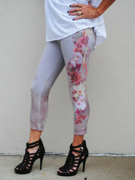 High Waist Leggings in Light Pink - Summertime Boutique