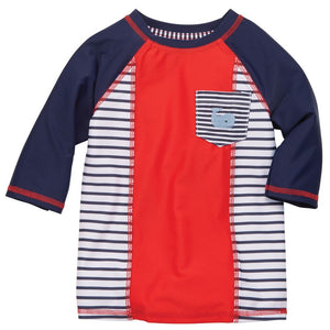 Nautical Whale Rash Guard