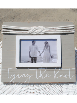 Nautical Wedding Photo Frame - Summertime Boutique