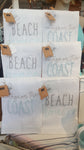 Beach House French Knot Towels