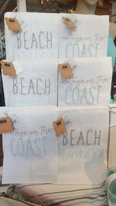 Beach House French Knot Towels - Summertime Boutique