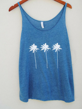 Three Palms Tank - Summertime Boutique