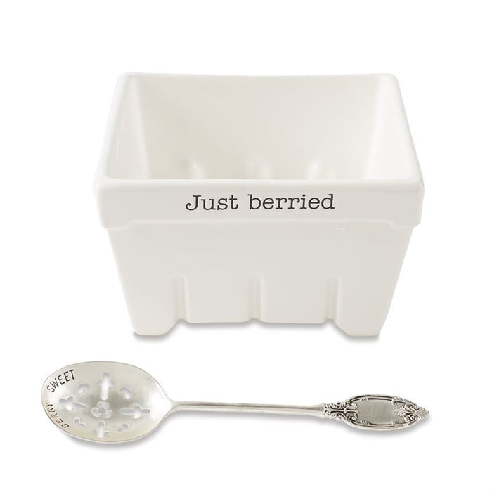 """Just Berried"" Fruit Serving Set - Summertime Boutique"