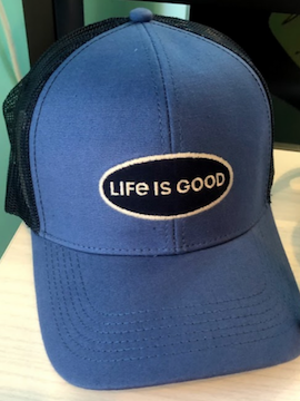Life Is Good Baseball Cap - Summertime Boutique