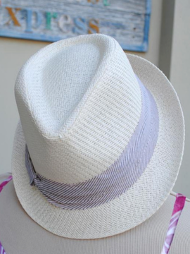 Nautical Fedora - Summertime Boutique