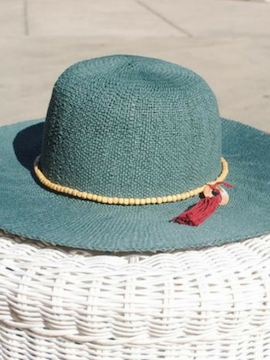 Blue Sun Hat - Summertime Boutique