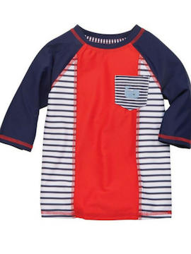 Nautical Whale Rash Guard - Summertime Boutique