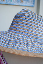 Load image into Gallery viewer, Wave Woven Full Brim Hat - Summertime Boutique