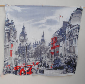 """Streets of London"" - Uniquely Designed Scarf"