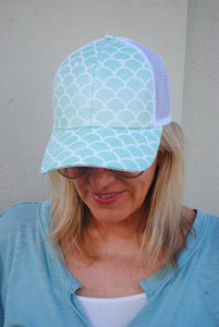 Mermaid Baseball Cap - Summertime Boutique