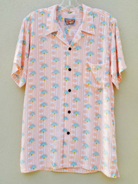 Orange Palm Top - Summertime Boutique