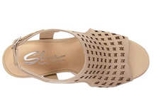 Load image into Gallery viewer, Laser Cut Beige Heel - Summertime Boutique