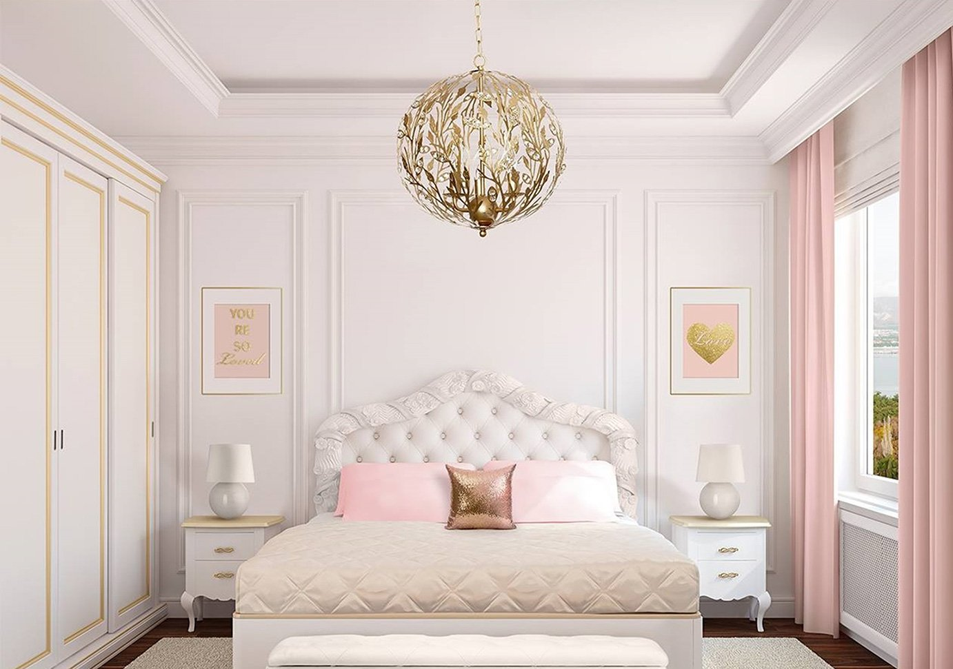Kids ceiling lights nursery lighting firefly kids lighting browse our girls lighting collection aloadofball Image collections
