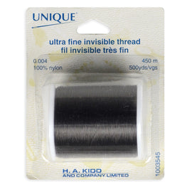 Nylon Invisible Threads - Transparent Black