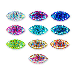 20pcs Gummy Spike Resin Sew-On Cabochons (7x15mm)