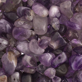 100g Semi-Precious Loose Chips - Purple Mix (SP011)