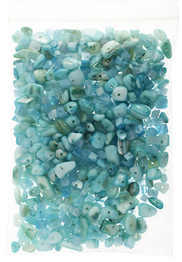 100g Semi-Precious Loose Chips - Pacific Blue (SP012)