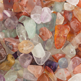 100g Semi-Precious Loose Chips - Earth Mix (SP017)