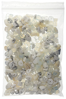 100g Semi-Precious Loose Chips - Dover Cliffs Mix (SP022)