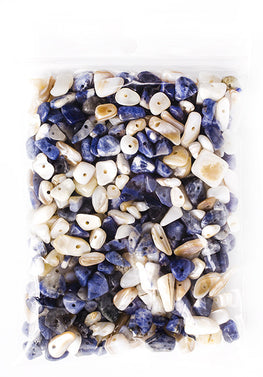 100g Semi-Precious Loose Chips - Dover Cliffs Mix (SP024)