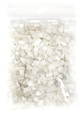 100g Semi-Precious Loose Chips - White Lightning Mix (SP025)