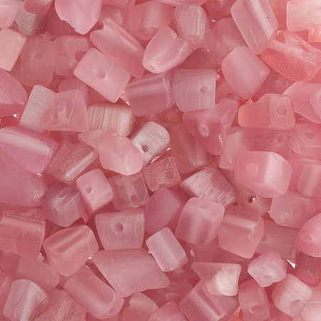100g Semi-Precious Loose Chips - Romantic Rose Mix (SP030)