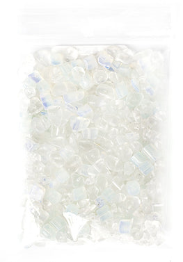 100g Semi-Precious Loose Chips - Frozen Opalite Mix (SP032)