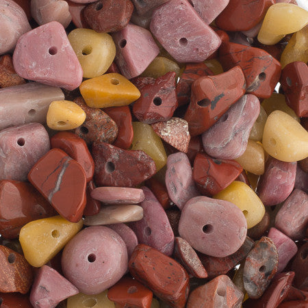 100g Semi-Precious Loose Chips - Moonkite Mix (SP033)
