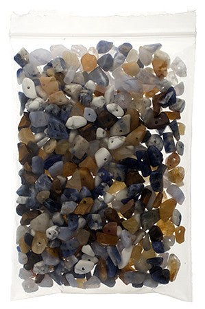 100g Semi-Precious Loose Chips - Agate Mix (SP048)