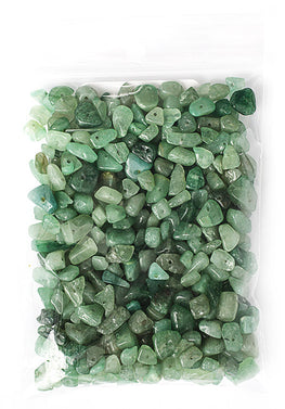 100g Semi-Precious Loose Chips - Aventurine Green Mix (SP050)