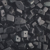 100g Semi-Precious Loose Chips - Blackstone Jet Mix (SP053)