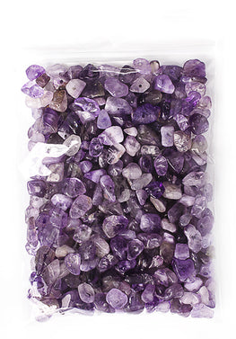 100g Semi-Precious Loose Chips - Amethyst Mix (SP054)