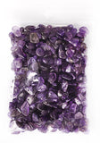 100g Semi-Precious Loose Chips - Dark Amethyst Mix (SP065)