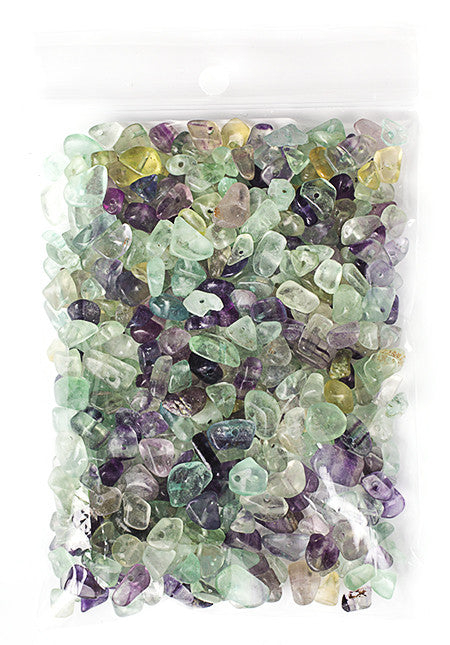 100g Semi-Precious Loose Chips - Flourite Mix (SP067)