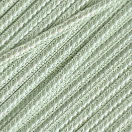 Braided Flat Trim - Mint Green - 0.25""
