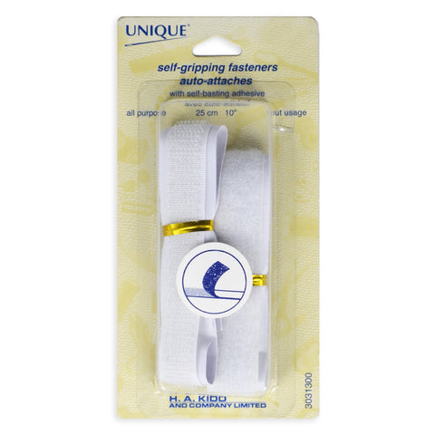 Velcro Tape - Self-Gripping Fasteners - White