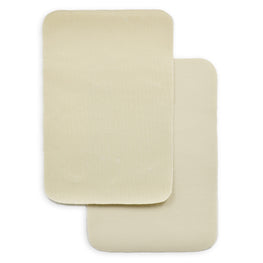 2pcs Iron-on Drill Patches - Beige