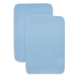 2pcs Iron-on Drill Patches - Light Blue