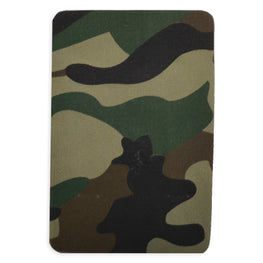 2pcs Iron-on Drill Patches - Army Green