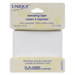 1 yard Mending Tape - White