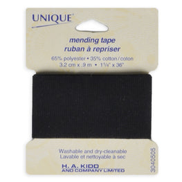 1 yard Mending Tape - Black