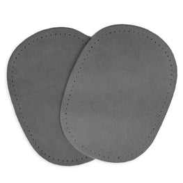 2pcs Suede Patches - Grey
