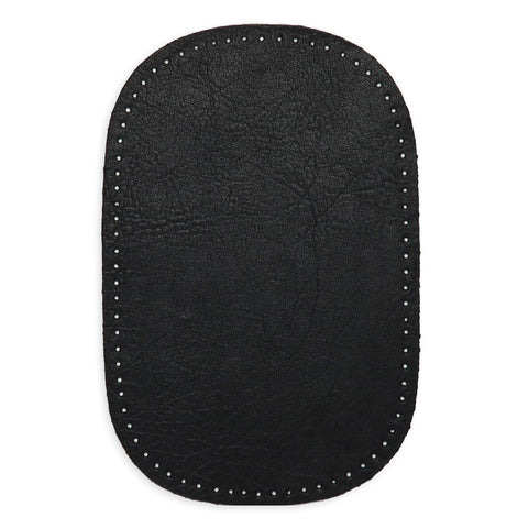 2pcs Leather Patches - Black